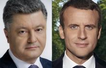"""""""Вы сильный народ, победа будет за вами"""", – Макрон первым поздравил Украину и ее президента с Днем независимости"""