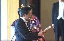 Зеленский стал почетным гостем интронизации нового императора Японии: кадры