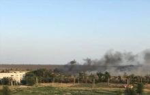 ГСЧС бьет тревогу из-за пожара в Мариуполе: опасный огонь охватил поля на восточной окраине города - кадры