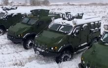 Украинская армия получила мощные броневики для борьбы с оккупантом – кадры