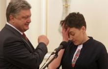 Нардеп Савченко пришла на бандитско-мураевский телеканал и заявила, что президент Порошенко на нее покушается