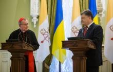 Петр Порошенко: ценим усилия Папы Римского в установлении мира в Украине