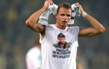 Российский футболист Тарасов разделся ради Путина: в УЕФА приняли меры