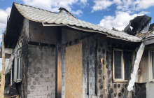 """Пожар в доме Шабунина под Киевом: в полиции расставили все точки над """"i"""""""