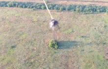 ВСУ одним ударом ПТУР лишили боевиков системы видеонаблюдения на Светлодарской дуге, видео