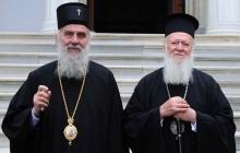 """""""Катастрофический акт для православия"""", - сербский патриарх Ириней просит Варфоломея не давать Украине Томос"""
