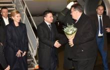 Зеленский начал официальный визит в Литву: видео онлайн-трансляция