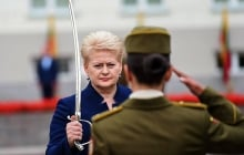"""""""Азовское море – не территория России"""", - Грибаускайте пригрозила агрессору увеличить военное присутствие Литвы"""