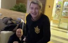 """Крутого и Баскова насильно разнимали в аэропорту Минска: """"Он сейчас набросится"""""""