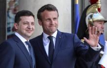 Зеленский обсудил с Макроном войну на Донбассе, коронавирус и визит главы Франции в Украину