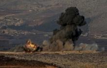 Турецкая авиация атаковала курдское ополчение в Африне – кадры