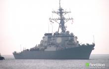 В Черное море вошел американский ракетный эсминец USS Ross DDG 71 с арсеналом мощного оружия: фото