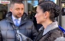 Арахамию в Давосе заметили в компании главных пропагандистов Путина: о чем они говорили