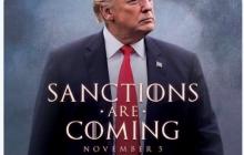 """Трамп в образе героя """"Игры Престолов"""" послал России и Ирану грозное предупреждение, от которого мороз по коже, - кадры"""