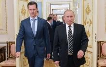 Ключевая встреча: сирийский диктатор Асад прилетел в Сочи к Путину
