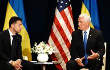 Вице-президент США Пенс неожиданно оценил свою встречу с Зеленским