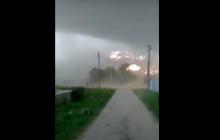 На Чечню вечером обрушился ураган, срывая крыши и деревья, - Кадыров срочно обратился к народу