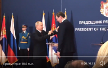 Видео с Путиным взорвало соцсети: из-за роста на встрече с президентом Сербии произошел скандальный казус