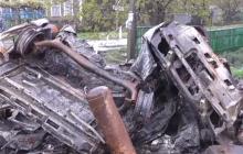Слабонервным не смотреть: появились первые страшные кадры обстрела мирных людей на КПП у Еленовки