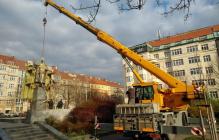 """""""Эх, чехи, чехи..."""" - Ольгу Скабееву разозлил снос памятника советскому маршалу Коневу в Праге"""