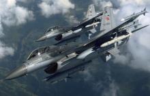 Турция бросила в бой истребители F16 и ударные БПЛА и разгромила военную колонну войск Асада и РФ - источник