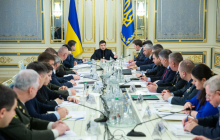 После атаки боевиков на Донбассе Зеленский срочно собирает СНБО