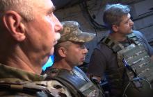 Глава СНБО Данилюк приехал в зону ООС на Донбассе: подробности визита, фото и видео