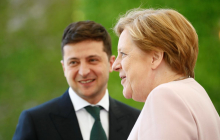 Разведение войск на Донбассе: Меркель неожиданно позвонила Зеленскому