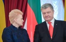 """Грибаускайте """"наказала"""" РФ за """"пиратство"""" в Азове: Литва ввела """"национальные"""" санкции"""