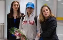 Исторический побег из Саудовской Аравии: Рахаф аль-Кунун прибыла в Канаду
