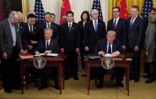 """""""Торговая война"""" США и Китая: стороны подписали первый важнейший документ"""