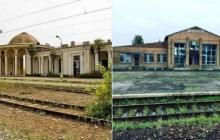 """Фотофакт: так будет со всем, куда придут """"освободители"""" и """"ру**кий мир"""", -  в Сети показали два знаковых кадра из Абхазии и оккупированного Донбасса"""