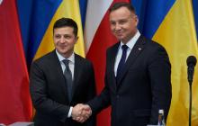 В Польше готовы отказаться от санкций против России: Дуда назвал Зеленскому условия