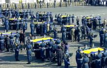 В Харькове прощаются с курсантами и офицерами, погибшими в Ан-26, кадры