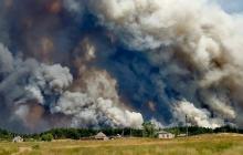 К Северодонецку подбирается огонь: лесной пожар сжег десятки домов, есть погибшие и много раненых