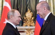 Эрдоган позвонил Путину перед масштабными военными учениями у границ Армении