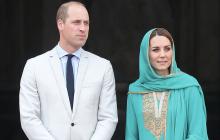 Самолет принца Уильяма и Кейт Миддлтон не смог зайти на посадку из-за серьезной грозы - кадры
