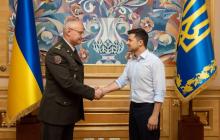 Армию ожидают кардинальные изменения: Зеленский высказался о назначении Хомчака
