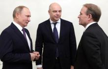 """""""Мы за мир"""": о чем говорили Путин и Медведчук в Санкт-Петербурге"""