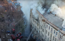 Новые подробности пожара в колледже Одессы: погибла 17-летняя студентка, 5 человек пропали