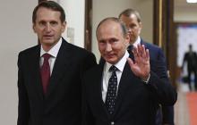 У Путина призвали готовиться к большой войне: глава разведки РФ Нарышкин сделал заявление