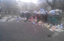 """Фотофакт: """"свободный"""" от всего Алчевск утопает в мусоре, горожане ждут новой беды и проклинают """"ЛНР"""""""