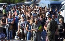 Красный Крест подсчитал количество жителей Донбасса, покинувших свои дома из-за войны и российской оккупации