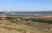 В Крыму Тайганское водохранилище превращается в болото - кадры облетели Сеть