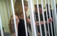 Виктория Заверуха не пробыла на свободе и нескольких минут: неонацистку после освобождения прямо в зале суда задержали снова