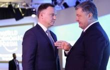 """Важная встреча Дуды и Порошенко: Польша неизменно против строительства """"Северного потока - 2"""" и агрессии РФ"""