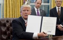 Американской помощи для Украины - быть: Трамп подписал закон о выделении Украине не менее 560 млн долларов финансовой поддержки