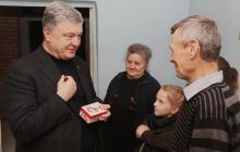 Порошенко купил дом семье из Марьинки: прежний разрушили российские оккупанты обстрелом - фото