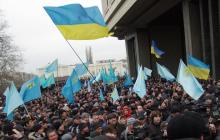 Крымские татары идут в Крым масштабным маршем - возможен силовой прорыв границы