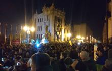 Активисты отбили сцену и палатки у силовиков обратно: что сейчас происходит под ОП